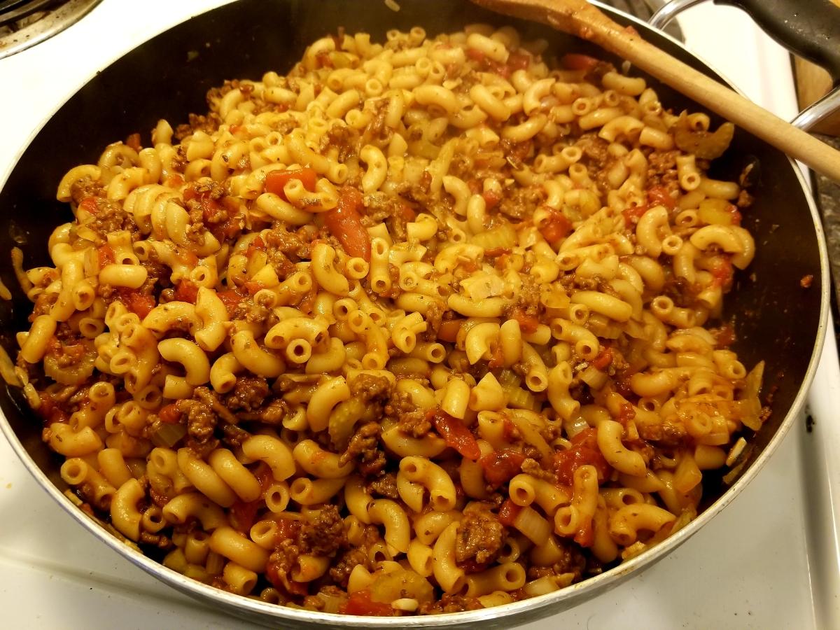 Macaroni à la viande (One pan)
