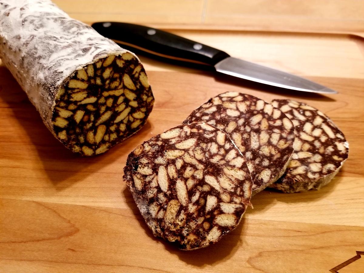 Salami de Chocolat